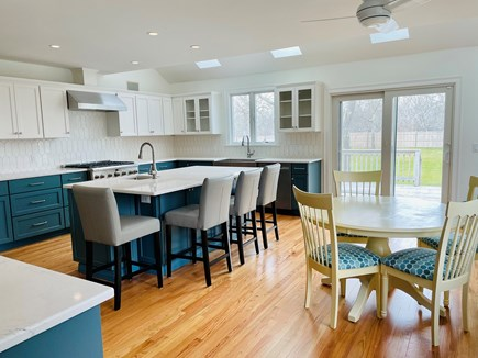 Edgartown Martha's Vineyard vacation rental - You'll enjoy amazing meals in our newly-renovated kitchen.