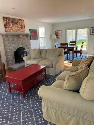 Edgartown Martha's Vineyard vacation rental - Our bright and comfortable living room.