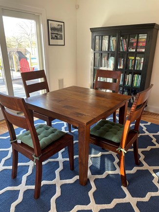 Edgartown Martha's Vineyard vacation rental - Enjoy our game table, for cards, board games, puzzles, and fun!