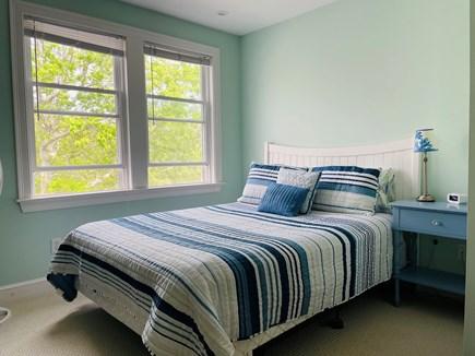 Edgartown Martha's Vineyard vacation rental - The blue bedroom (queen bed)