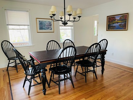 Edgartown Martha's Vineyard vacation rental - Enjoy family meals in our cheerful dining room -- seats 8!