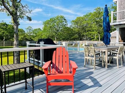 Edgartown Martha's Vineyard vacation rental - Dine al fresco and relax on our spacious rear deck.