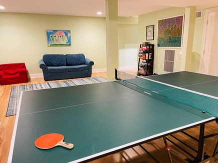 Edgartown Martha's Vineyard vacation rental - Game on: relax and play in our bright, finished basement.