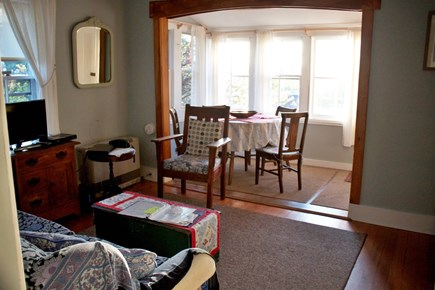 Menemsha (Chilmark) Martha's Vineyard vacation rental - Living Room and Front Porch