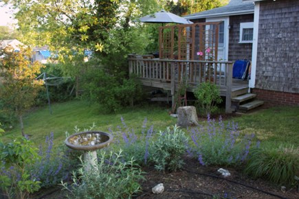 Menemsha (Chilmark) Martha's Vineyard vacation rental - Side porch.