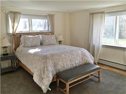 Chilmark Martha's Vineyard vacation rental - Bedroom #4 with queen bed on first floor