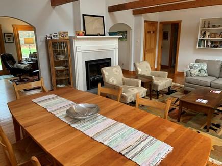 Chilmark Martha's Vineyard vacation rental - Dining/Living room