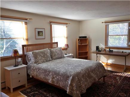 Chilmark Martha's Vineyard vacation rental - Master Bedroom with Private Bath upstairs