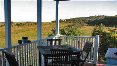 Menemsha (Chilmark) Martha's Vineyard vacation rental - Porch
