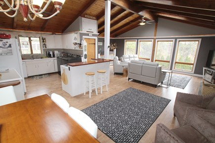 Oak Bluffs Martha's Vineyard vacation rental - Open kitchen, dining, living area.