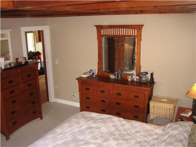 Oak Bluffs Martha's Vineyard vacation rental - Bedroom with slider and deck