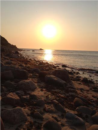 Aquinnah Martha's Vineyard vacation rental - ...or enjoy sunsets at the cliffs