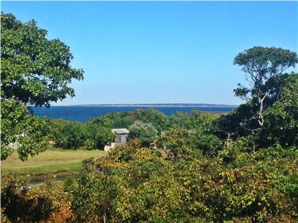 Aquinnah Martha's Vineyard vacation rental - View from Front Deck