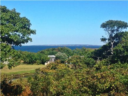 Aquinnah Martha's Vineyard vacation rental - View from Front Deck
