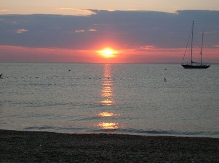 Edgartown Village Martha's Vineyard vacation rental - Menemsha sunset