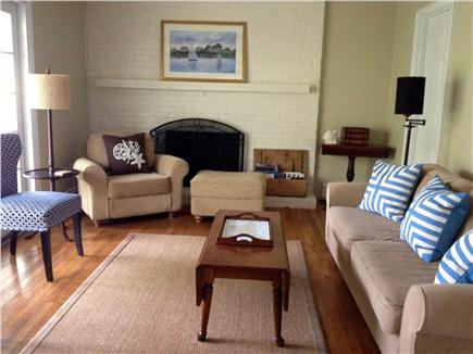 Edgartown Village Martha's Vineyard vacation rental - Family room located off kitchen