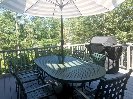 Oak Bluffs Martha's Vineyard vacation rental - The 2nd floor deck with grill and screened enclosure