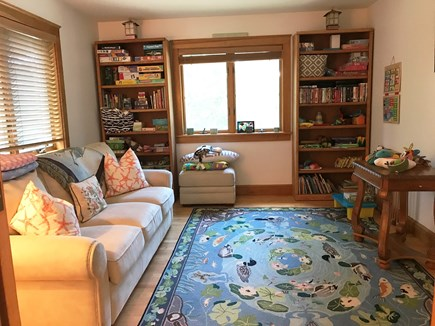 Oak Bluffs Martha's Vineyard vacation rental - Game room with pull out queen-plus sized bed