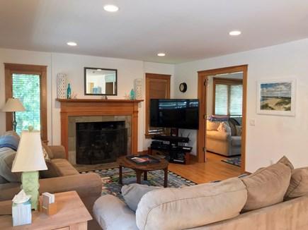 Oak Bluffs Martha's Vineyard vacation rental - Comfortable living room w/ flat screen TV, adjacent to game room