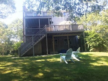 Oak Bluffs Martha's Vineyard vacation rental - Spacious backyard