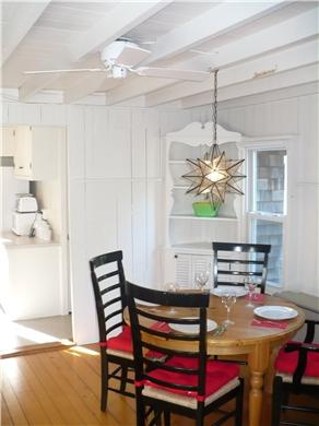 Oak Bluffs Martha's Vineyard vacation rental - Intimate Dining.  Table extends to seat six comfortably