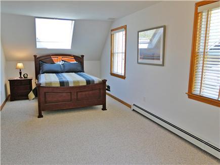 Edgartown Martha's Vineyard vacation rental - Upstairs Queen bedroom with TV, adjacent bath