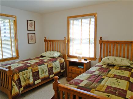 Edgartown Martha's Vineyard vacation rental - Main floor Twin bedroom with adjacent bath