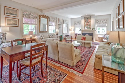 Edgartown Martha's Vineyard vacation rental - Spacious, grand, front living room