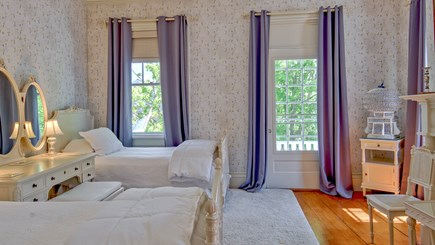 Edgartown Martha's Vineyard vacation rental - Sara Dinsmore Room - Bedroom 2 with two twins