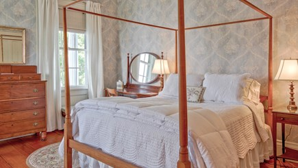 Edgartown Martha's Vineyard vacation rental - John O. Morse Room - Bedroom 1 on 2nd floor - queen bed