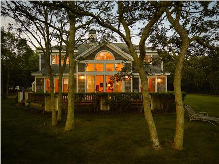 West Tisbury, Deep Bottom Pond Martha's Vineyard vacation rental - Evening Glow