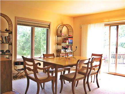 West Tisbury, Deep Bottom Pond Martha's Vineyard vacation rental - Dining Room