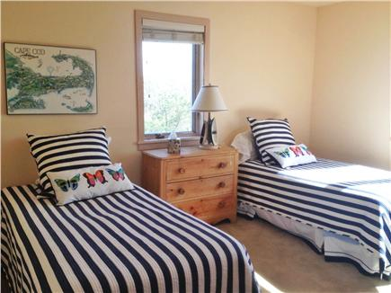 West Tisbury, Deep Bottom Pond Martha's Vineyard vacation rental - Twin Bedroom #1