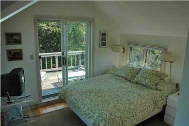 Aquinnah Martha's Vineyard vacation rental - Top Floor Bedroom