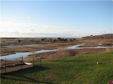 Menemsha (Chilmark) Martha's Vineyard vacation rental - Front yard view of Menemsha Creek and sunsets
