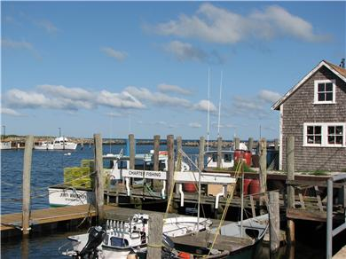 Menemsha (Chilmark) Martha's Vineyard vacation rental - Menemsha Harbor across the street