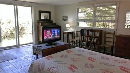 Edgartown Martha's Vineyard vacation rental - Large master bedroom with separate bath