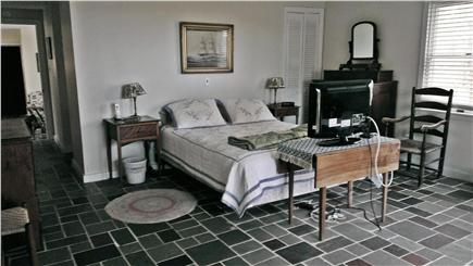 Edgartown Martha's Vineyard vacation rental - Queen bed, antiques, TV and A/C in the master bedroom