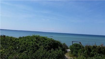 Edgartown Martha's Vineyard vacation rental - Top of beach stairs on bluff
