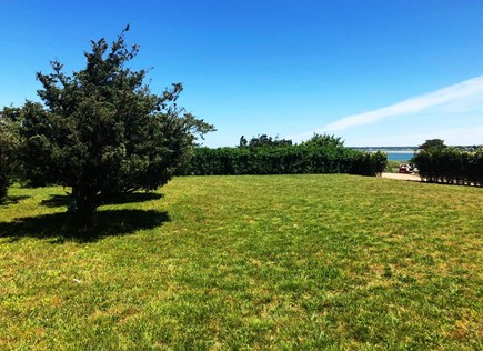 Edgartown Martha's Vineyard vacation rental - Beach Lot grassy parking area. Plenty of room for a ball game.