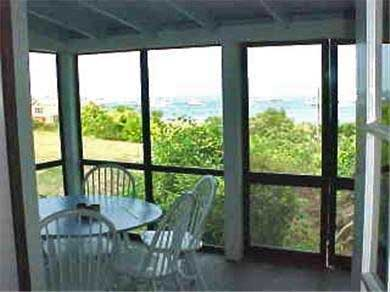 Chappaquiddick Martha's Vineyard vacation rental - Front porch 1