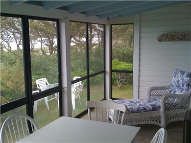 Chappaquiddick Martha's Vineyard vacation rental - Front porch 2