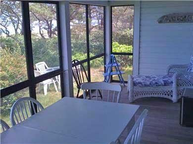 Chappaquiddick Martha's Vineyard vacation rental - Front porch 3
