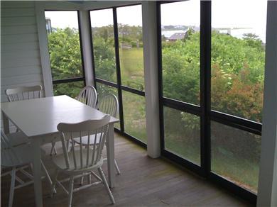 Chappaquiddick Martha's Vineyard vacation rental - Front porch 4