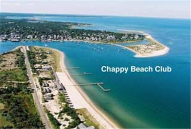 Chappaquiddick Martha's Vineyard vacation rental - Aerial view of location