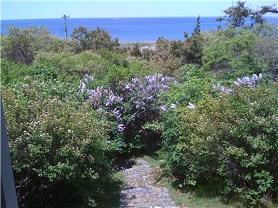 Chappaquiddick Martha's Vineyard vacation rental - Walk way to beach