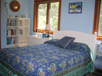 West Tisbury Martha's Vineyard vacation rental - Downstairs bedroom with its own 1/2 bath and separate entryway!