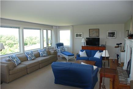 Chilmark Martha's Vineyard vacation rental - Light and airy living room.