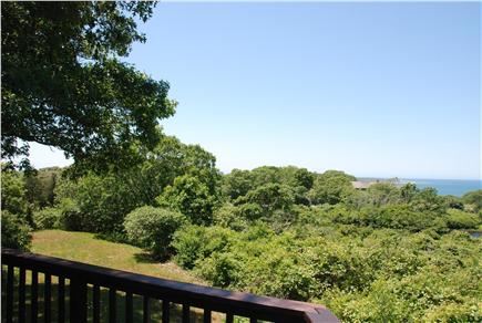 Chilmark Martha's Vineyard vacation rental - Water view from the deck