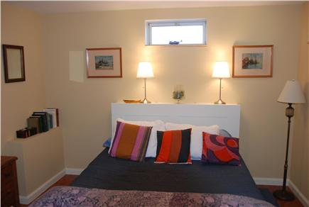 Chilmark Martha's Vineyard vacation rental - Cozy lower level bedroom with queen sized bed